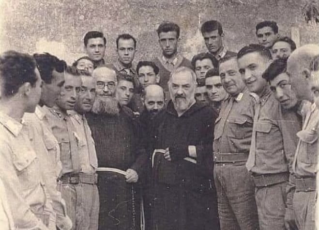 St. Padre Pio the Flying Saints and the American Comrades
