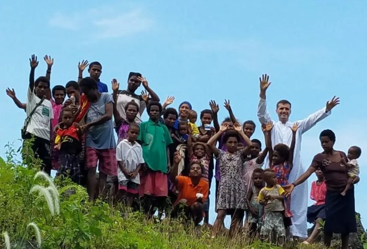 Fr. Martin in Papua New Guinea